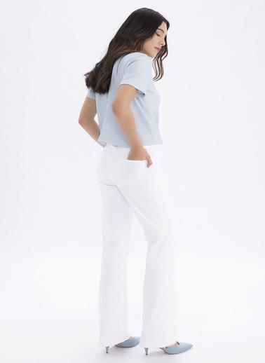 Gusto Pantolon Beyaz